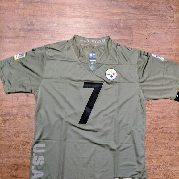 c7934d32cdc Nike Shirts | Pittsburgh Steelers Ben Roethlisberger Jerseys | Poshmark